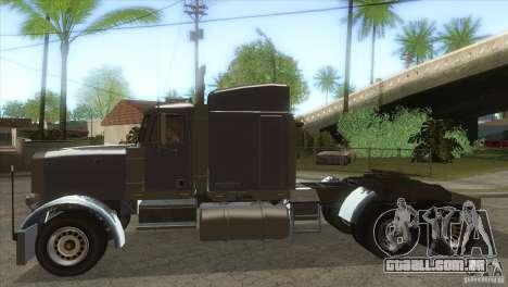 Fantasma do GTA IV para GTA San Andreas esquerda vista