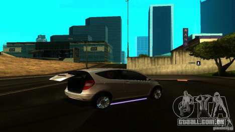 Mercedes-Benz A200 Turbo para GTA San Andreas vista direita