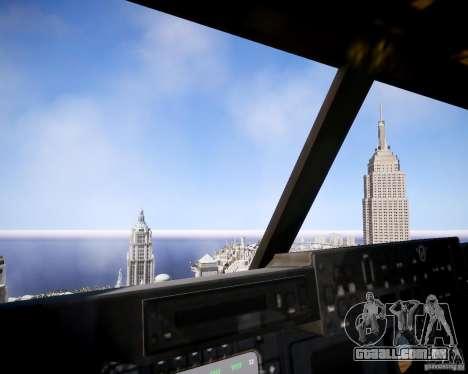 Osprey MV-22 para GTA 4 vista interior