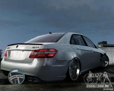 Mercedes Benz B63 S Brabus v1.0 para GTA 4 vista de volta
