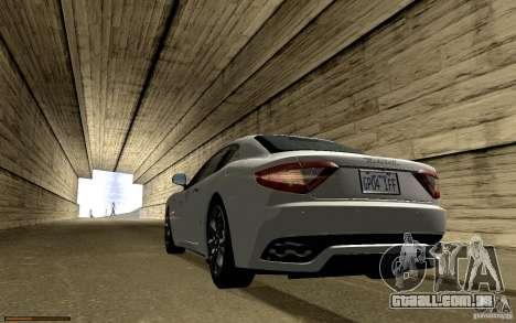 Maserati Gran Turismo 2008 para o motor de GTA San Andreas