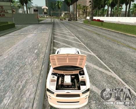 GTA 4 TBoGT de Buffalo para GTA San Andreas vista traseira