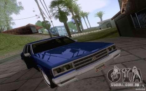 Chevrolet Caprice Clasico para GTA San Andreas