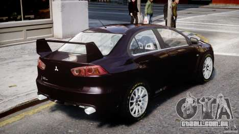 Mitsubishi Lancer X para GTA 4
