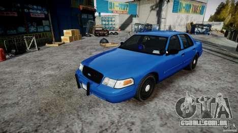 Ford Crown Victoria Detective v4.7 [ELS] para GTA 4