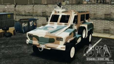 RG-31 Nyala SANDF para GTA 4