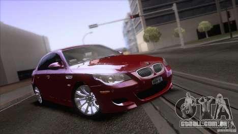 BMW M5 2009 para as rodas de GTA San Andreas
