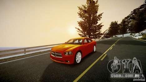 Dodge Charger R/T 2011 Max para GTA 4 vista direita
