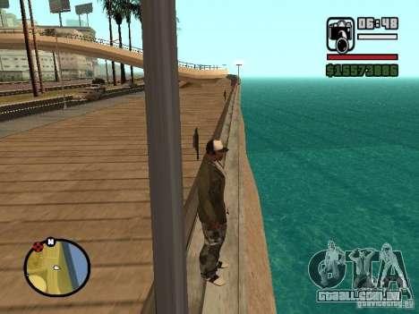 A água de padrão para GTA San Andreas