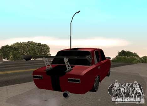 VAZ 2101 Drag para GTA San Andreas traseira esquerda vista