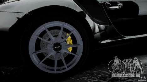 Porsche 911 GT2 RS 2012 para GTA 4 vista superior
