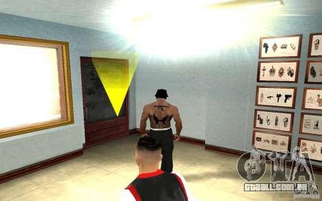 Hollywood Undead Tatoo para GTA San Andreas por diante tela