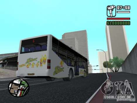 LAZ InterLAZ 12 para GTA San Andreas esquerda vista
