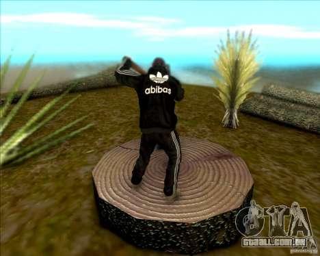 SkinPack for GTA SA para GTA San Andreas por diante tela