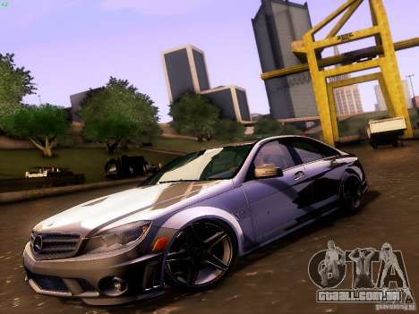 Mercedes-Benz C36 AMG para GTA San Andreas vista traseira