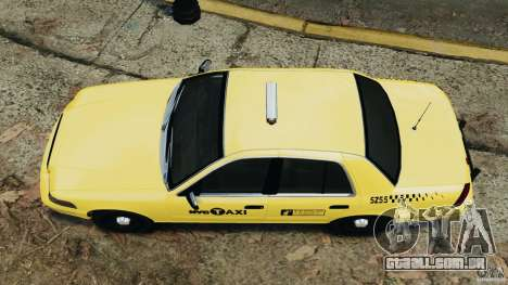 Ford Crown Victoria NYC Taxi 2004 para GTA 4 vista direita