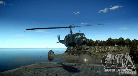 Bell UH-1D German Bundeswehr para GTA 4 vista direita