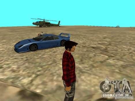 Veículos novos em todo o estado para GTA San Andreas