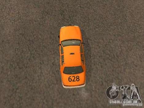 Ford Crown Victoria San Francisco Cab para GTA San Andreas vista interior