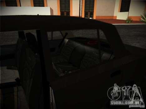 Tofas 124 Serçe para GTA San Andreas vista interior