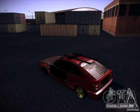 Volkswagen Corrado Rathella para GTA San Andreas esquerda vista
