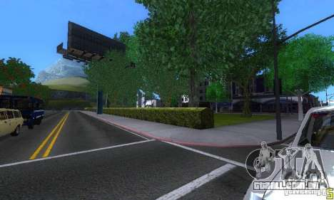 NEW STREET SF MOD para GTA San Andreas nono tela