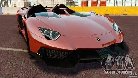 Lamborghini Aventador J [RIV] para GTA 4