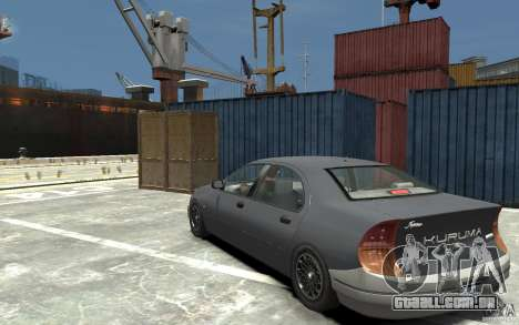 Kuruma de GTA 3 para GTA 4 traseira esquerda vista