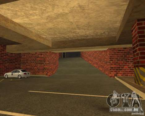 Polícia de garagem novo LSPD para GTA San Andreas segunda tela