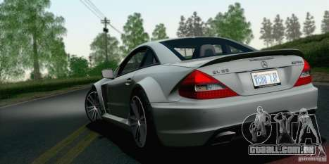 Mercedes-Benz SL65 AMG Black Series para GTA San Andreas esquerda vista