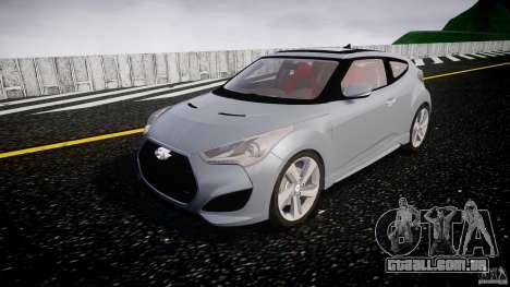 Hyundai Veloster Turbo 2012 para GTA 4 vista de volta