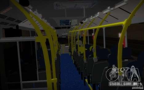 Marcopolo Viale BRT 0500M para GTA San Andreas vista traseira