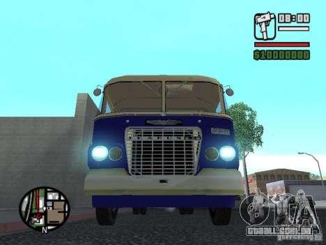 Ikarus 630 para GTA San Andreas esquerda vista