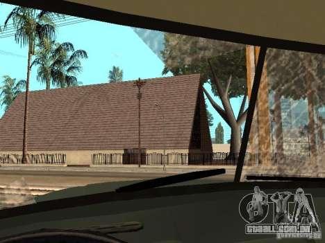 ZIL 131 caminhão para GTA San Andreas vista superior