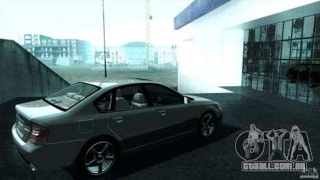 Subaru Legacy B4 3.0R specB para GTA San Andreas esquerda vista