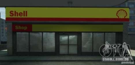 Shell Petrol Station V2 Updated para GTA 4 sexto tela