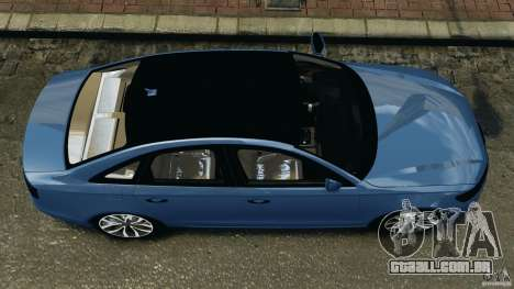 Audi A6 para GTA 4 vista direita