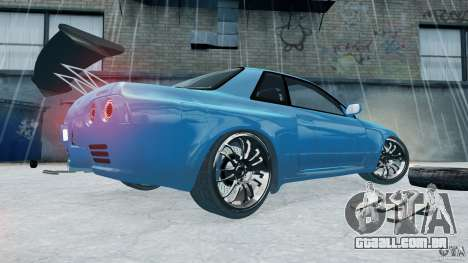 Nissan Skyline R32 GTS-T [FINAL] para GTA 4