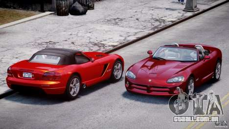 Dodge Viper SRT-10 2003 1.0 para GTA 4 vista lateral