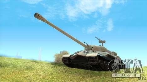 IS-7 Heavy Tank para GTA San Andreas esquerda vista