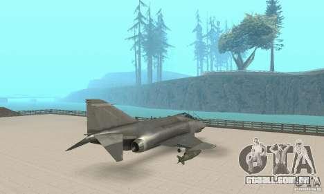 F-4E Phantom II para GTA San Andreas