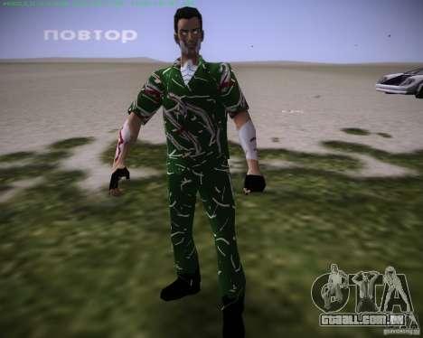 Pele é revelada para GTA Vice City por diante tela