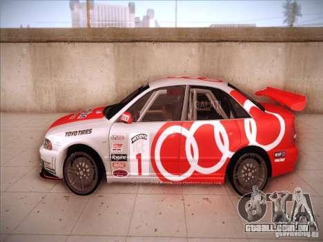 Audi S4 Galati Race para GTA San Andreas esquerda vista