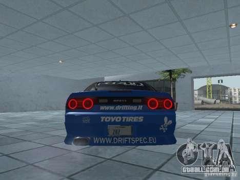 Nissan RPS13 Drift Spec para GTA San Andreas vista direita