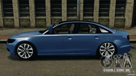 Audi A6 para GTA 4 esquerda vista