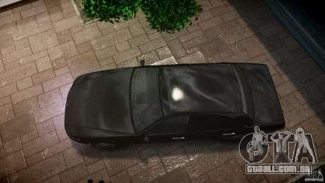 Washington FBI Car para GTA 4 vista direita