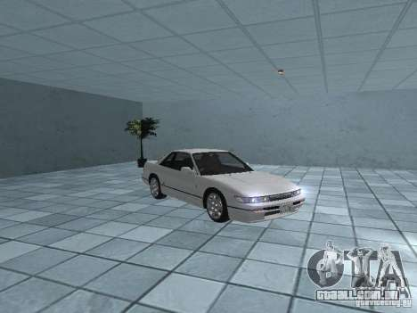 Nissan Silvia PS13 para GTA San Andreas vista interior