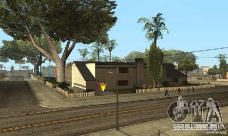 Grove Street 2013 v1 para GTA San Andreas sexta tela
