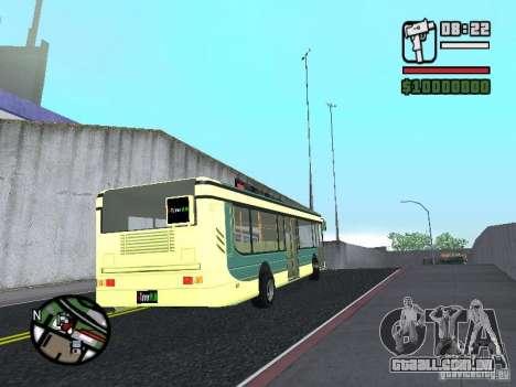 XTunnerHUN Team Man para GTA San Andreas traseira esquerda vista