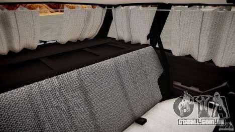 VAZ 2104 Final Fix (sem tonificação) para GTA 4 vista interior